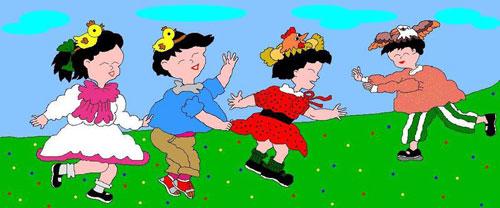 老鹞叼小鸡 满族的民间娱乐性体育活动 满族体育 第3张