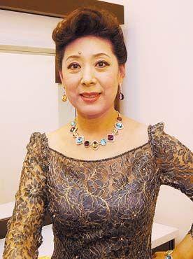 女中音歌唱家——关牧村 艺术名人